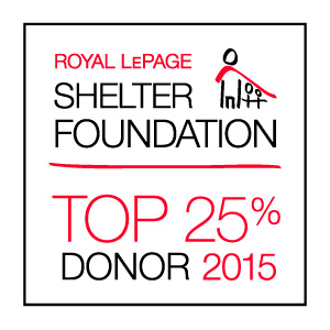 Royal LePage Shelter Foundation Top 25%